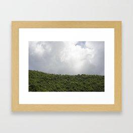 The Hills, St John, USVI - 2010 Framed Art Print