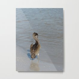 """You Talkin' to Me?"" Metal Print"
