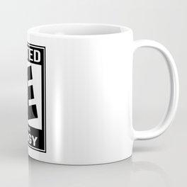 Rated E for Edgy Coffee Mug