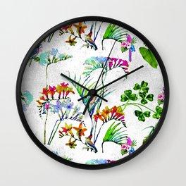 Tropical Millenial II Wall Clock