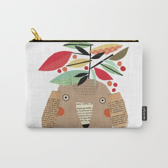 PLANTS ON HEAD Carry-All Pouch