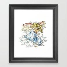Elemental series - Air Framed Art Print