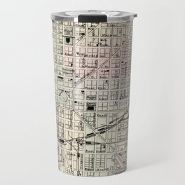 Vintage Map of Indianapolis Indiana (1884) Travel Mug