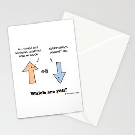 Working Out - Which Are You Stationery Cards