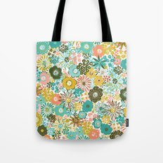 February Floral Tote Bag