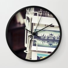Postales Wall Clock