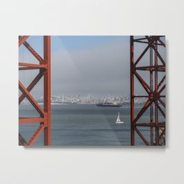 City By the Bay Metal Print