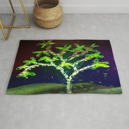 Abstract Tree Rug