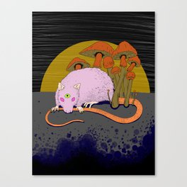 Shroomrat Canvas Print