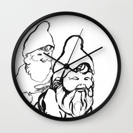 Gnomely playing  Wall Clock