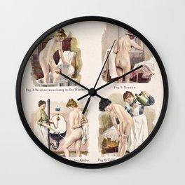 Bathing & Hygiene Wall Clock
