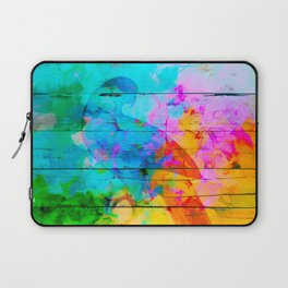 Shadow of a parrot on a hot day Laptop Sleeve