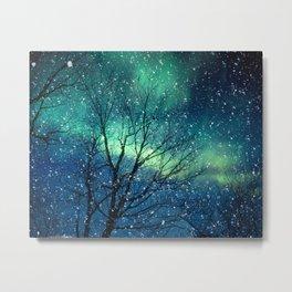 Aurora Borealis Northern Lights Metal Print