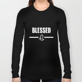 Blessed Big Hip Hop Rap Views Future Trap More Life Dj Hip Hop T-Shirts Long Sleeve T-shirt