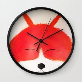 Foxy Roxy Wall Clock