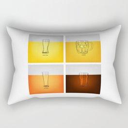 Golden Nectar Rectangular Pillow
