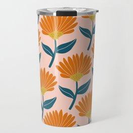 Floral_pattern Travel Mug