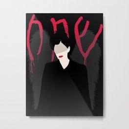 Dark Angel American Horror Story (Frances Conroy) Metal Print