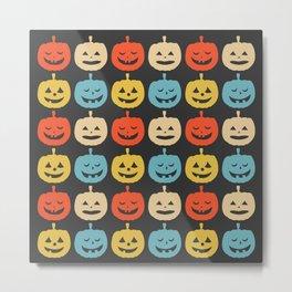 Pumpkin Halloween Metal Print