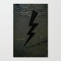 The Black Bolt Canvas Print