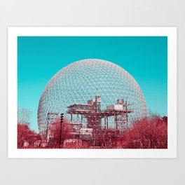 Surreal Montreal 6 Art Print