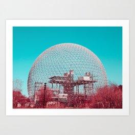 Surreal Montreal 6 Art Print