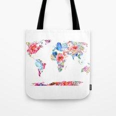 Optimistic World Tote Bag