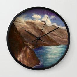 Amalfi Wall Clock