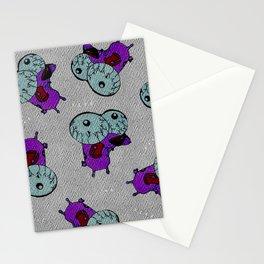 ne fear pattern Stationery Cards