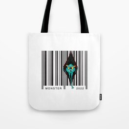 Code monsters Tote Bag