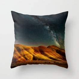 Painted Hills Milky Way Throw Pillow