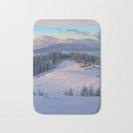 WINTER SCENE-3118/2 Bath Mat