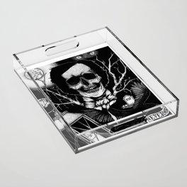 Edgar Allan Poe Nevermore Acrylic Tray