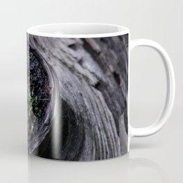 A Knot in a Log Coffee Mug