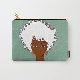 Beautiful woman Carry-All Pouch