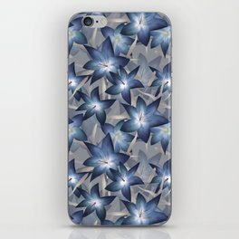 Blue lilies. Lily iPhone Skin