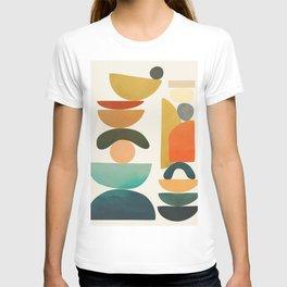 Modern Abstract Art 72 T-shirt