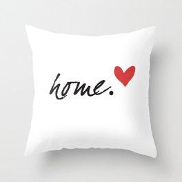 Love Home Throw Pillow