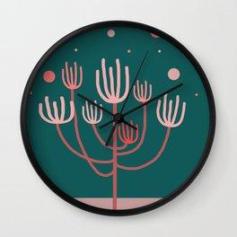 Desert Tree Wall Clock