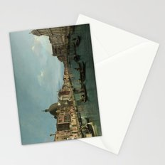 A View of the Grand Canal by Canaletto Stationery Cards
