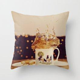 Splish Splash Sploosh Throw Pillow