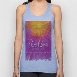 Archeiai Guidance: Inspirationsfrom the Feminine Aspects of the Archangels Unisex Tank Top