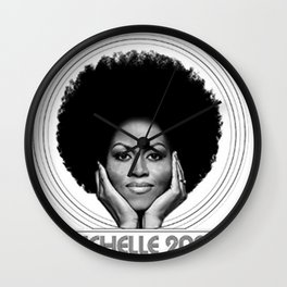 Michelle 2020 Wall Clock