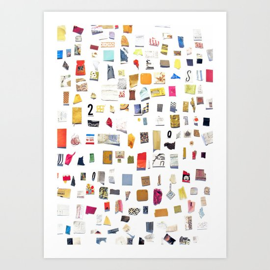 Out of Merely Not Nothing Art Print