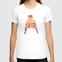 hat T-shirts featuring Jayne Hat by Nana Leonti