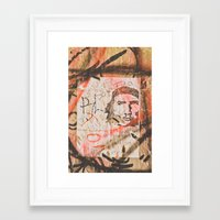 che Framed Art Prints featuring Che by Jaime Lynn Photography
