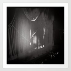 Stage Curtain Art Print