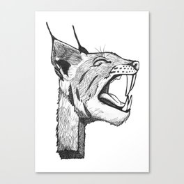 P - Animal Alphabet Canvas Print