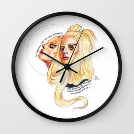 LadyGaga // Woman of The Year Wall Clock