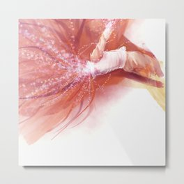 Dive Into Forever Metal Print